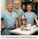 Dr Oleh Antonyshyn, Glenn Edwards & James Mainprize